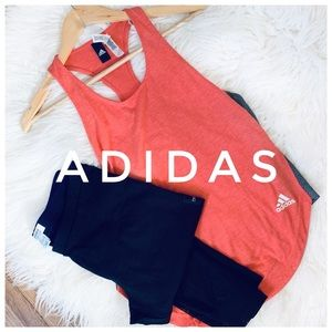 ADIDAS Red tank top